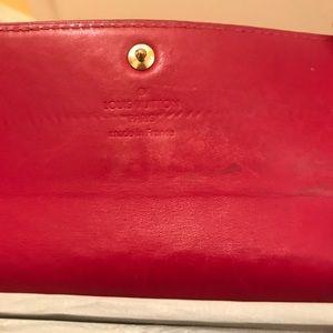 Louis Vuitton Bags - Louis vuitton wallet. Red color